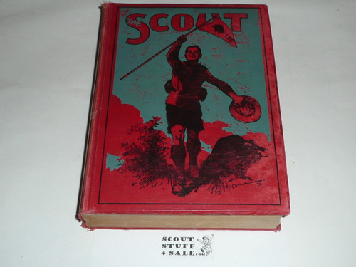 """1912-13 Bound complete volume of """"The Scout"""", United Kingdom Youth Scout Magazine"""