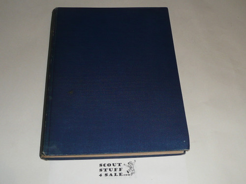 """1932 Bound volume of """"The Scouter"""", United Kingdom Scout Leader Magazine"""