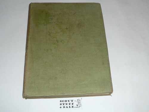 """1934 Bound volume of """"The Scouter"""", United Kingdom Scout Leader Magazine"""