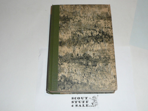 THE LIBRARY OF PIONEERING AND WOODCRAFT By Ernest T. Seton, 1925, 6 Vol. Set Books BUT only vol 6 here, Wild Animals at Home