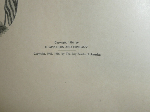 1916 The Boy Scout Year Book, by Frank Mathiews
