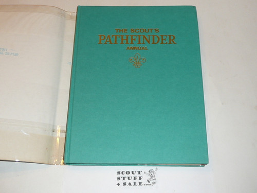 1971 The Scout's Pathfinder Annual, UK Scout Association, with dust jacket