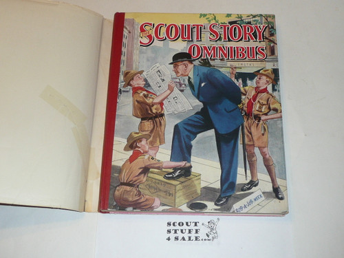 1954 The Scout Story Omnibus Book, first Printing, with dust jacket