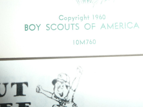 1960 Philmont Nature Story, Boy Scouts of America