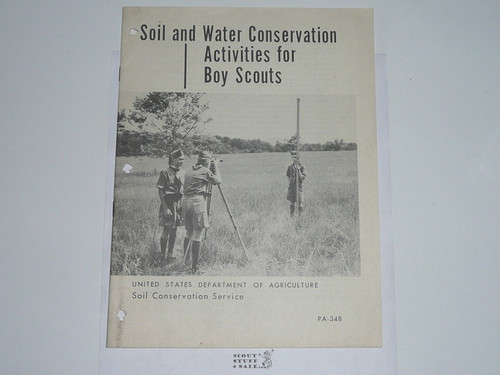 Soil and Water Conservation Activities for Boy Scouts, 9-64 Printing, US Department of Agriculture