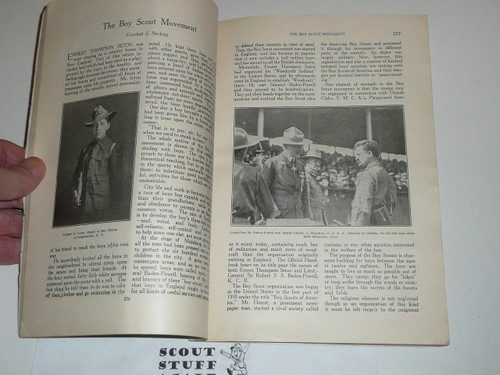 1911 July issue of American Motherhood Magazine with an article about Boy Scouts