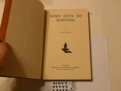 Some Outs of Scouting, Great Britain, 1948 printing
