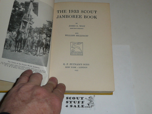 The 1933 Scout Jamboree Book, By William Hillcourt, A great record of the Jamboree