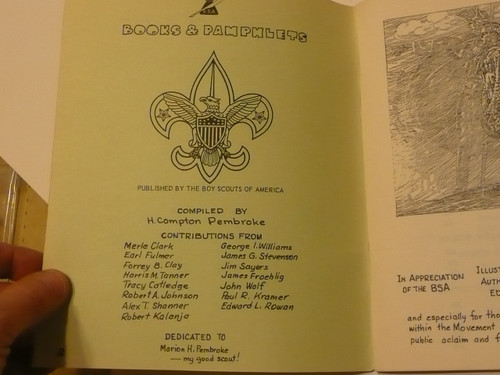 Book Moot, Boy Scout book collecting guide from the 1980's