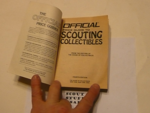 Official Price Guide to Scouting Collectibles, 4th Edition, 1986
