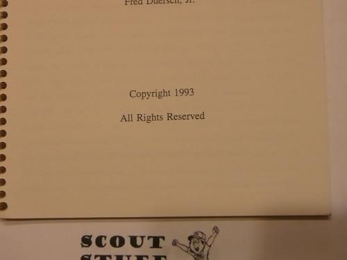 Green Khaki Crimped Merit Badges, by Fred Duersch Jr., 1993 Printing