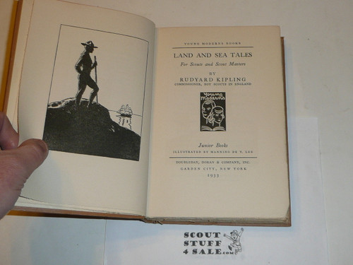 1923 Land and Sea Tales for Scouts and Scout Masters, by Rudyard Kipling