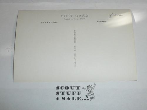 1957 World Jamboree Official Postcard of Moisson Sub Camp Gateway