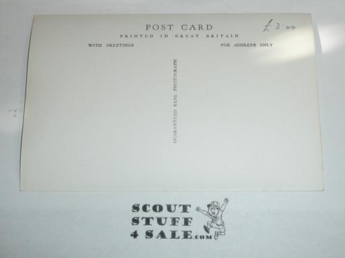 1957 World Jamboree Official Postcard of Copenhagen Sub Camp Gateway