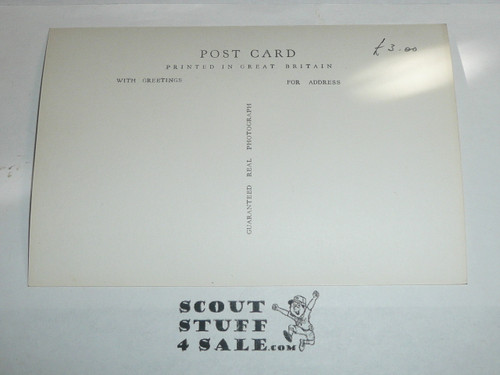 1957 World Jamboree Official Postcard of Contingent Parade at Stadium