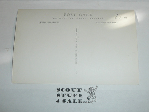 1957 World Jamboree Official Postcard of Ariel Photograph of the Jamboree