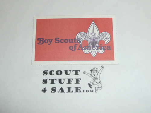 1987-1990 Boy Scout Membership Card, buyer to receive a card expiring ranging from 1987-1990 of this style, BSMC97