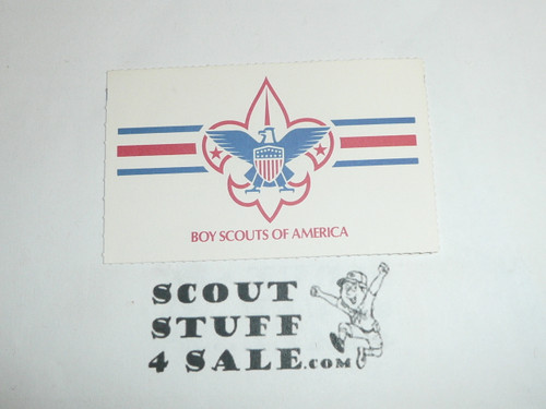 1991 Boy Scout Membership Card, buyer to receive a card expiring ranging from 1991 of this style, BSMC98