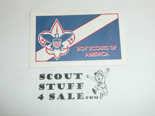 1999 Boy Scout Membership Card, buyer to receive a card expiring ranging from 1999 of this style, BSMC99