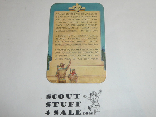 1957 Boy Scout Leader Membership Card, 2 signatures, buyer to receive a card expiring ranging from 1957 of this style, BSMC110