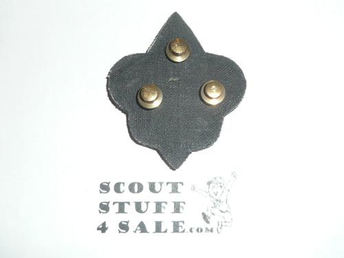 Boy Scout Leader/Professional Blazer Crest Bullion, RARE Prototype varieties, Variety #1