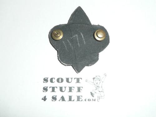 Boy Scout Leader/Professional Blazer Crest Bullion, RARE Prototype varieties, Variety #2