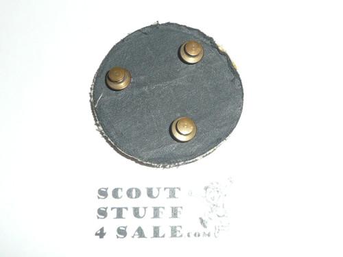 Boy Scout Leader/Professional Blazer Crest Bullion, RARE Prototype varieties, Variety #5