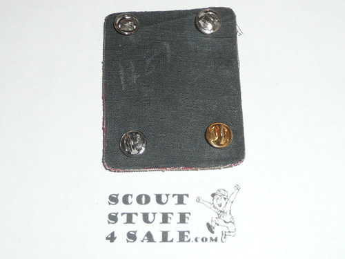 RARE Boy Scout 1970's SCOUTING/USA Leader/Professional/Commissioner Blazer Crest Bullion, RARE Prototype