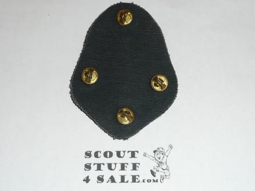 RARE Boy Scout Alpha Psi Omega Scouting Service Fraternity Blazer Crest Bullion, RARE Prototype, variety #1