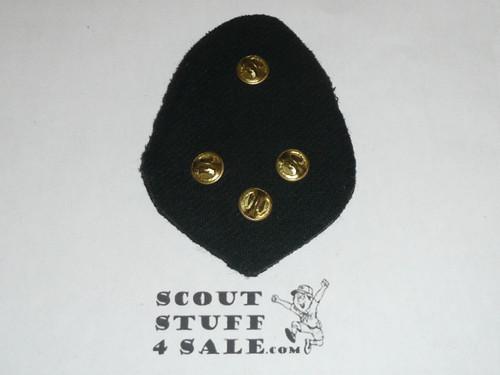 RARE Boy Scout Alpha Psi Omega Scouting Service Fraternity Blazer Crest Bullion, RARE Prototype, variety #2
