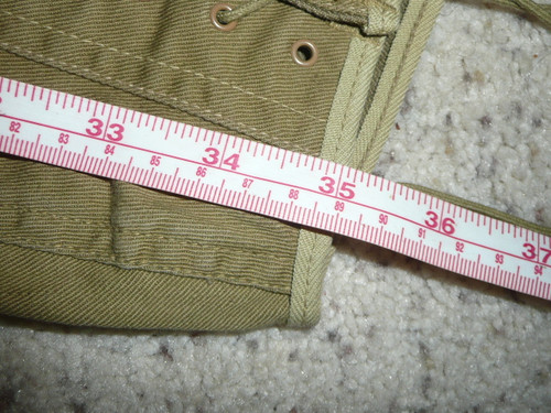 "1920's Official Boy Scout Uniform lace-up Knickers, 30"" waist 35"" length, #BD1"