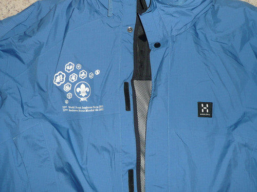 2011 World Jamboree Embroidered XL Jacket, Boy Scouts
