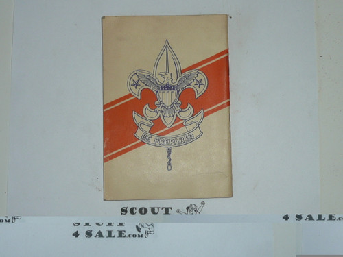 1940 New York World's Boy Scout Service Camp, I'm Going Pamphlet
