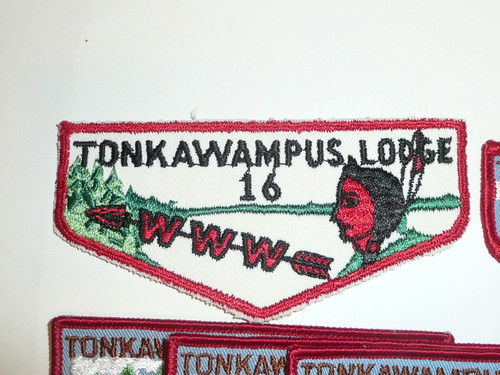 Order of the Arrow Lodge #16 Tonkawampus - Rosen Collection Preview