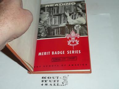 BOY SCOUTS 9905 READING  MERIT BADGE  TYPE C