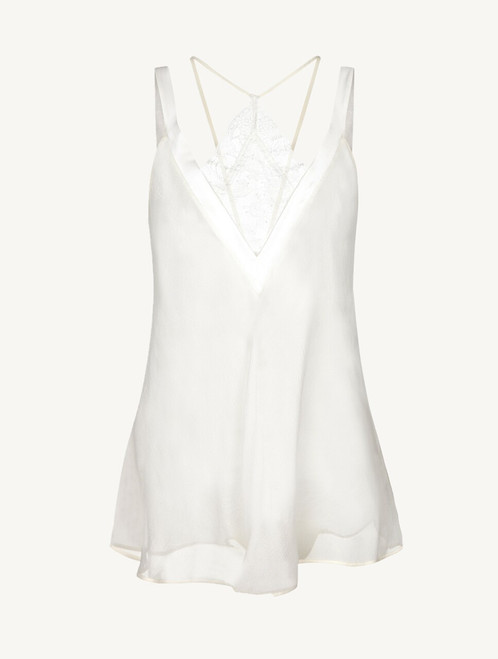 White babydoll with brief - ONLINE EXCLUSIVE