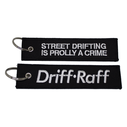 Street Drifting is Prolly a Crime Keychain