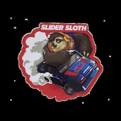 Slider Sloth Sticker