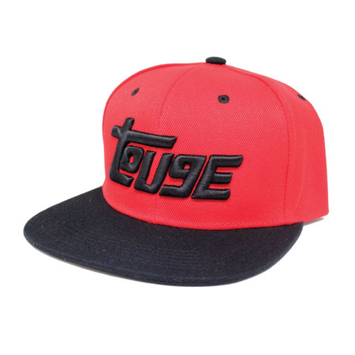 Red and Black Touge Snapback