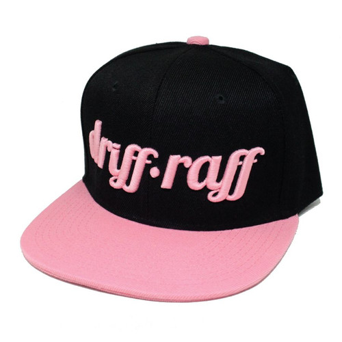 Black and Pink Snapback