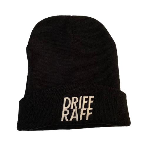 Black Driff Raff Beanie