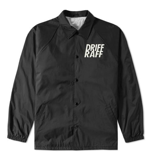 Driff•Raff Coach Jacket Black