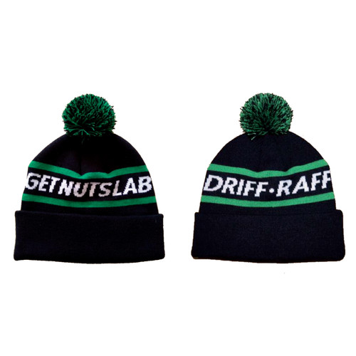 Get Nuts Lab and Driff•Raff Beanie with Pom