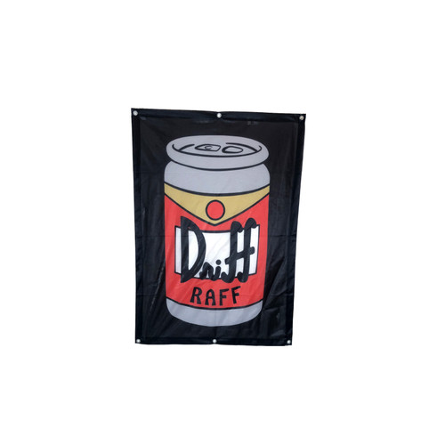 Driff•Raff 12oz Shop Flag