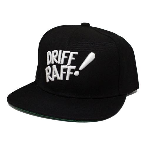 Driff•Raff! Black Snapback