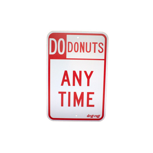 Do Donuts Anytime Shop Sign