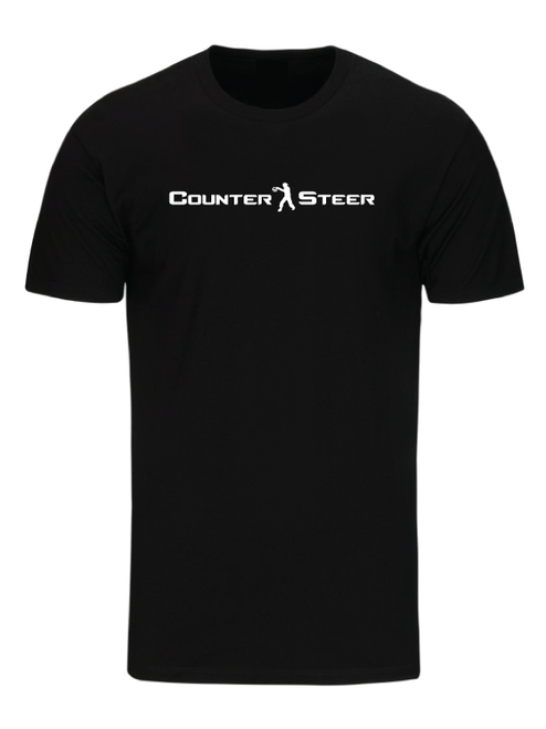 Counter Steer T-Shirt Black by Driff Raff