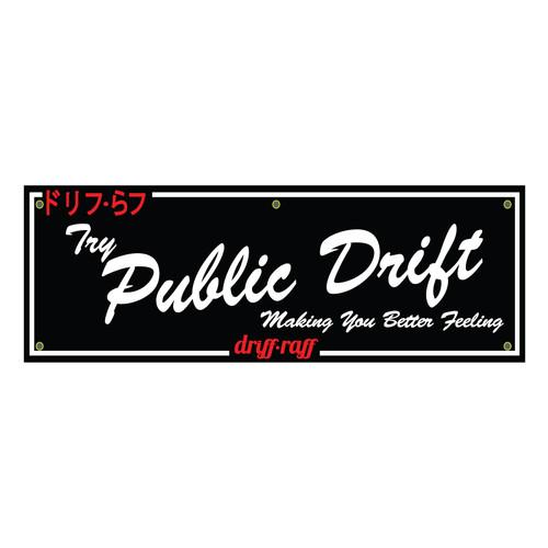 Try Public Drift Shop Flag