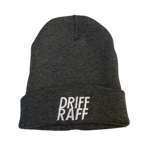 Gray Driff Raff Beanie