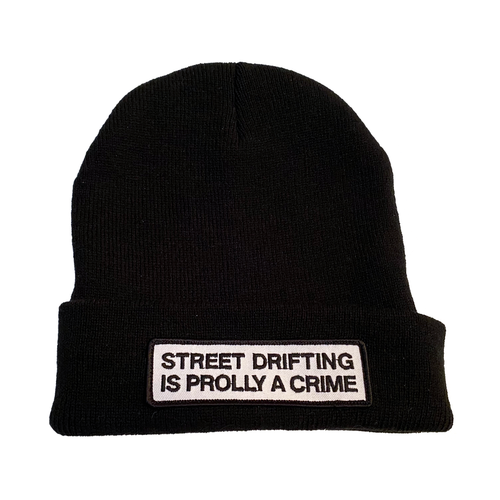 Black Prolly Beanie